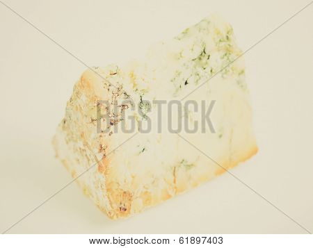 Retro Look Blue Stilton Cheese