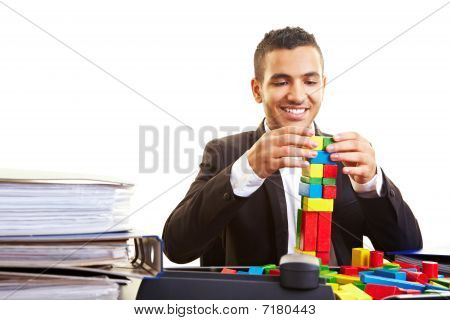 Manager Building A Tower