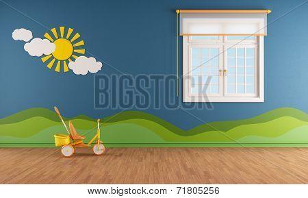 Blue Kids Room