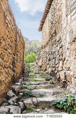 Stairs Wadi Bani Habib