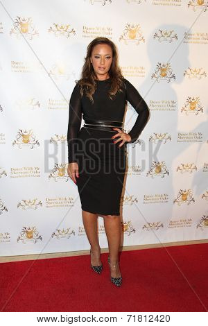 LOS ANGELES - SEP 10:  Leah Remini at the Dance With Me USA Grand Opening at Dance With Me Studio on September 10, 2014 in Sherman Oaks, CA
