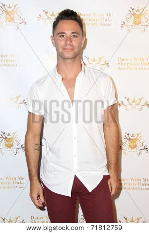 LOS ANGELES - SEP 10:  Sasha Farber at the Dance With Me USA Grand Opening at Dance With Me Studio on September 10, 2014 in Sherman Oaks, CA