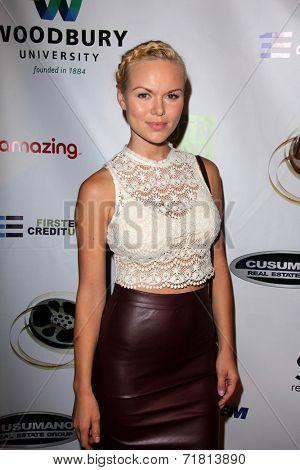 LOS ANGELES - SEP 6:  Anya Monzikova at the