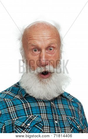 Old Man With A Long Beard
