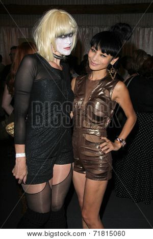 LOS ANGELES - SEP 6:  Bennett Cousins, Bai Ling at the Night of Science Fiction, Fantasy & Horror After Party at IATSE Stage 80 on September 6, 2014 in Burbank, CA