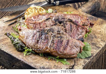 lambchops grilled