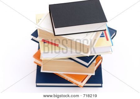 Books In A Pile
