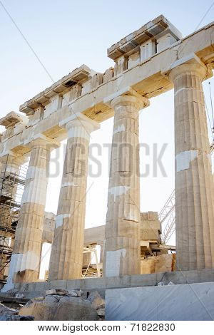 Reconstruction Of Parthenon