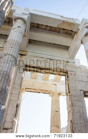 Temple Of Athena Nike Close Up