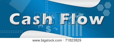 Cash Flow Business Theme Background