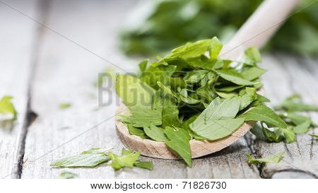 Portion Of Fresh Lovage