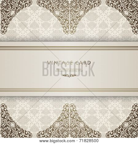 Background Traditional Ottoman motifs.