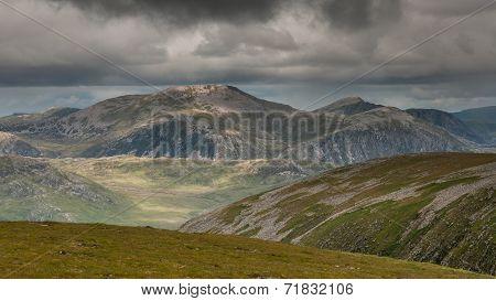 Beinn Dearg In Nw Scotland