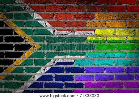 Dark Brick Wall - Lgbt Rights - South Africa