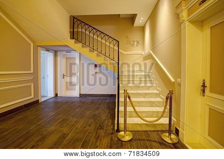 Luxurious stair case