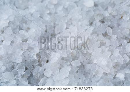 Close Up Photo Of Sea Salt Crystals