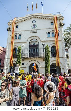 Eptember 11 Badalona Barcelona Spain