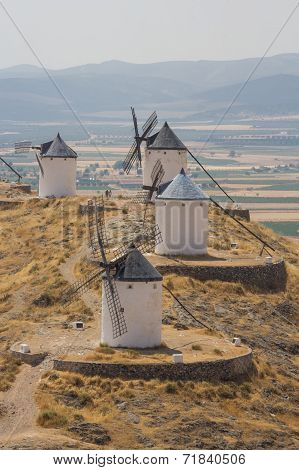 The famous Spanish windmills