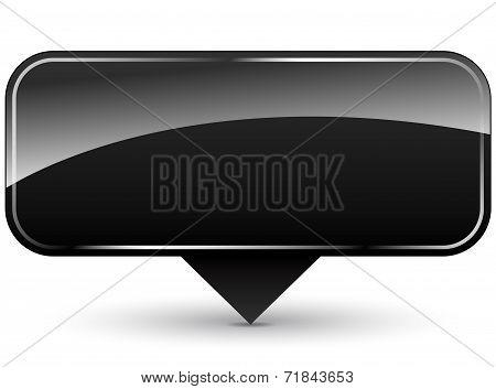Blank Black Icon