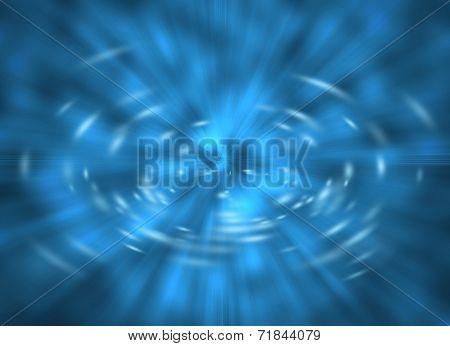 Blue Warp Explosion
