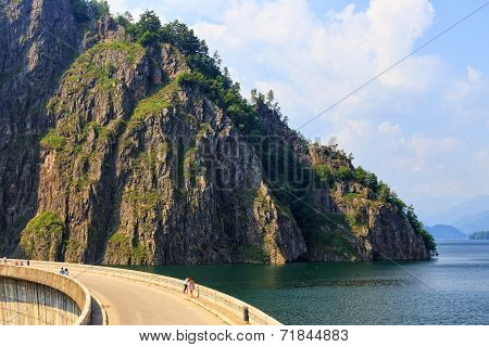 Vidraru Dam, Fagaras Mountains, Romania
