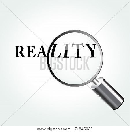 Reality Concept Illustration