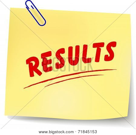 Results Note