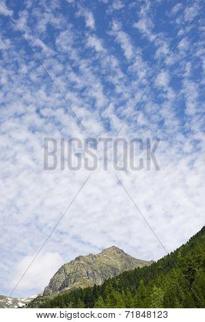 Arriel Peak in Tena Valley, Pyrenees, Huesca, Aragon, Spain.