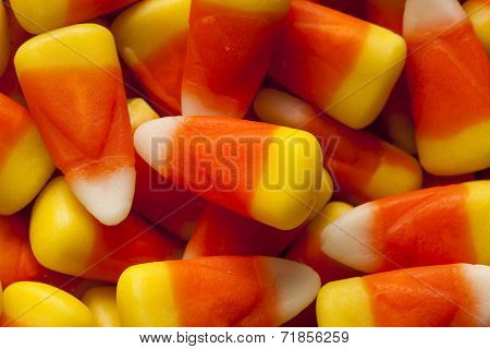 Colorful Candy Corn For Halloween