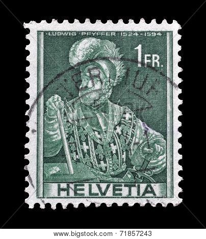 Ludwig Pfyffer stamp