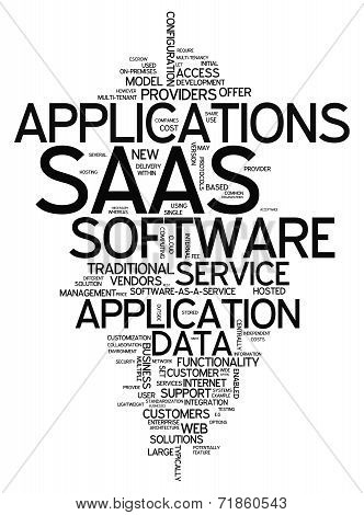 Word Cloud Software As A Service