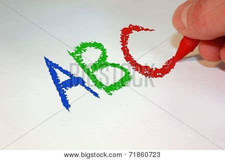 ABC Handwritten