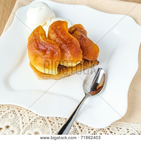 Tarte Tatin With Ice-?ream Ball
