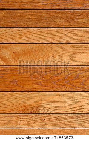 Varnishing Wooden Slats