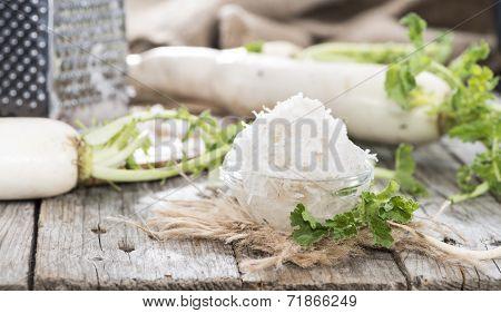 Fresh Grated Horseradish