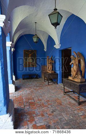 Interior of Casa del Moral