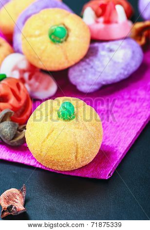 Jujube And Pumpkin Souffle Of A Happy Halloween