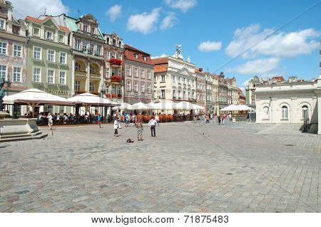 Old Marketplace In Poznan