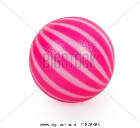Pink Toy Ball