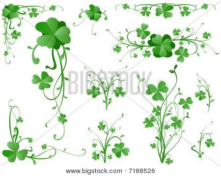 Clover Design Elements