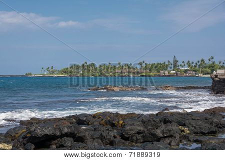 The coast of Big Island