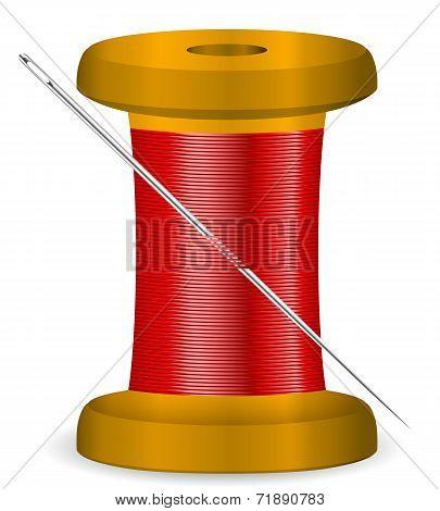 Needle And Thread Spool