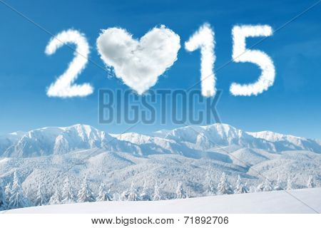 2015 Cloud Over Mountain Frozen