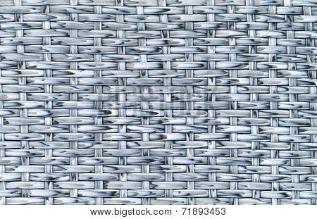 Plastic Rattan Weaving