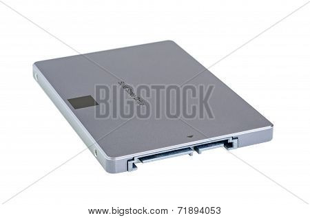 Solid State Drive Ssd Isolated On White