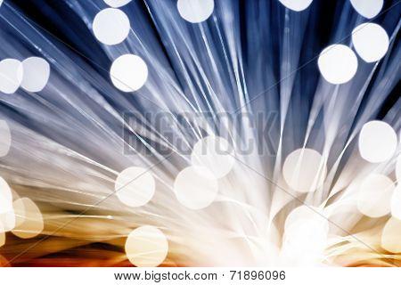 Golden fibre optic