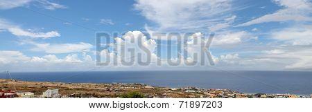 Panoramic Of Achada Sao Filipe