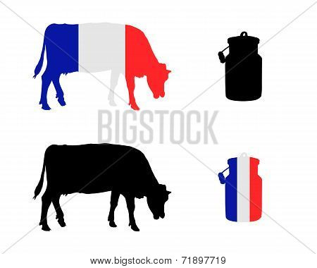 French Milk Cow