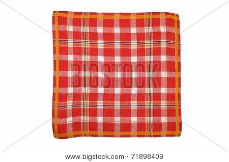 Red Plaid Cloth