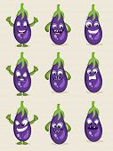 image of brinjal  - Brinjal in different moods - JPG